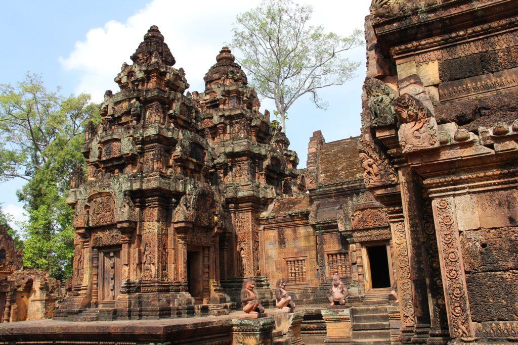 Banteaysrei siem reap cambodia
