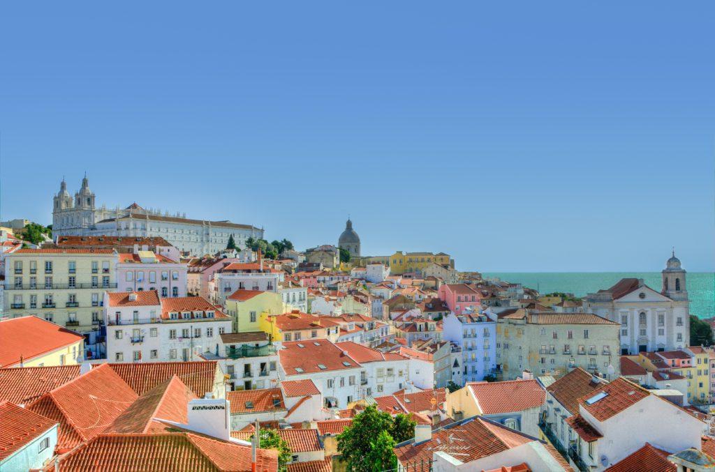 Lisbon, Portugal houses